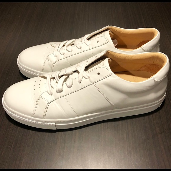 3f90a0c62556 GREATS Royale Leather Blanco White Shoes Womens